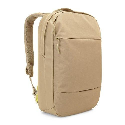 mochila laptop 15 pulgadas incase city collection khaki