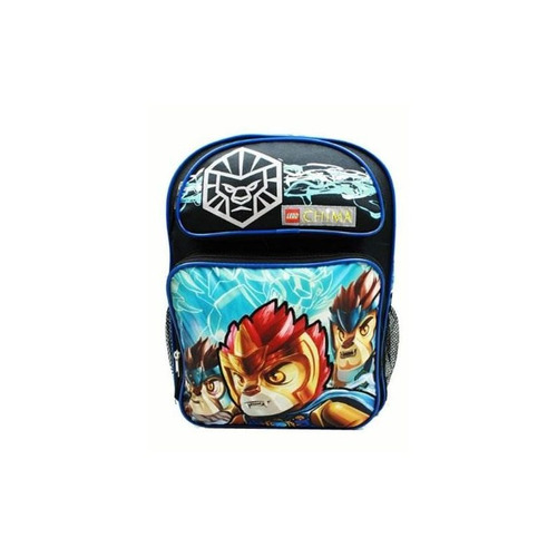 mochila - lego - leyendas de chima - laval (bolsa de escuela