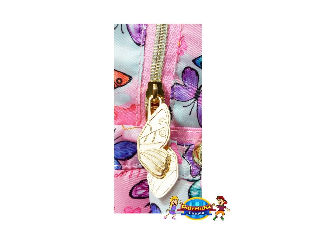 918e29ed4c mochila lilica ripilica gde+lanch butterfly 2018 kit escolar. Carregando  zoom.