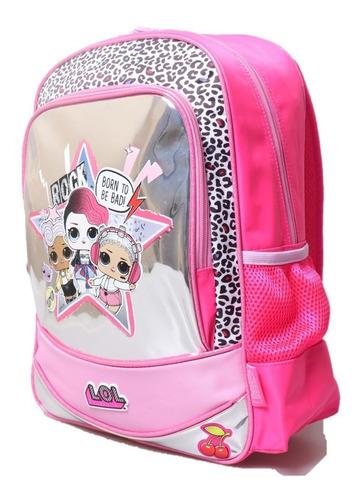 mochila lol surprise 16´´ espalda original nuevas escolar