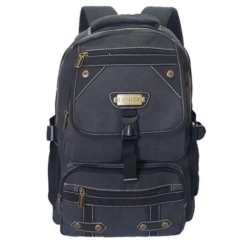 mochila lona 30 l camping viagem pronta entrega resistente