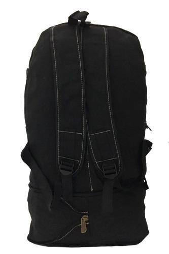 mochila lona camping escolar viagem grande resistente m064