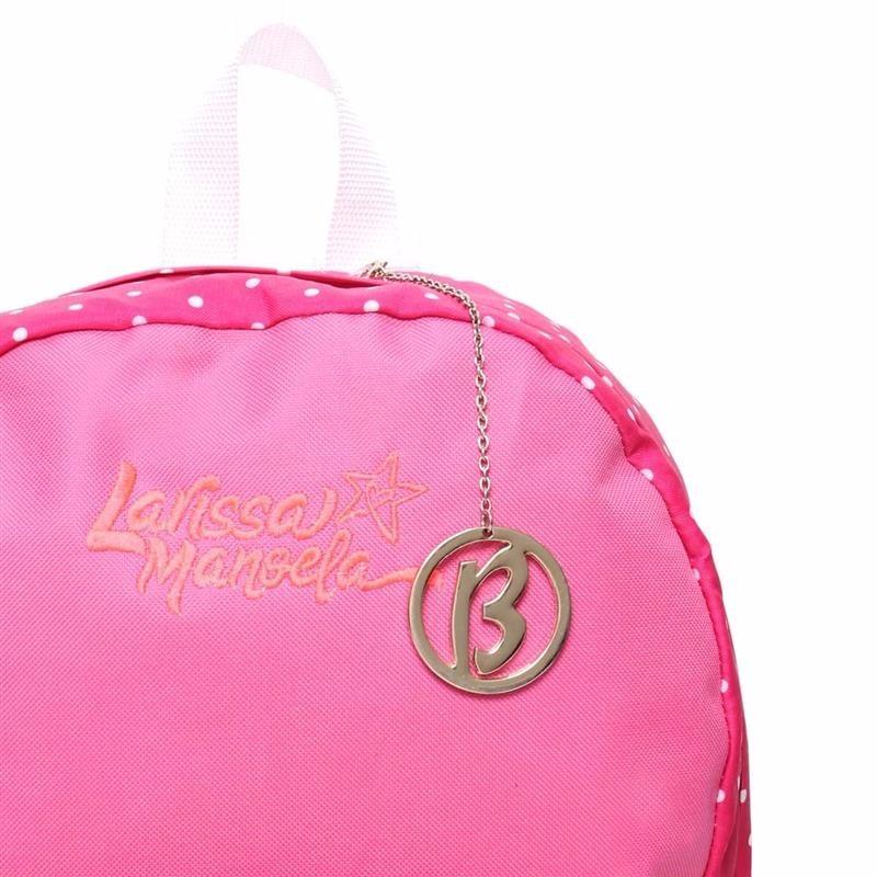 Mochila Lona Larissa Manoela Original Rosa - R  139,99 em Mercado Livre 50dc5939de