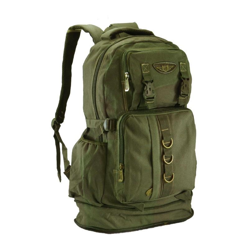bab4e9408a mochila lona sport camping feminina masculina esporte viagem. Carregando  zoom.