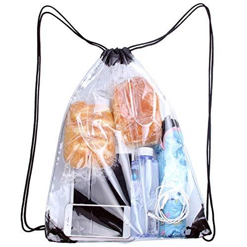 Mochila Lorencia Clear Drawstring Bag