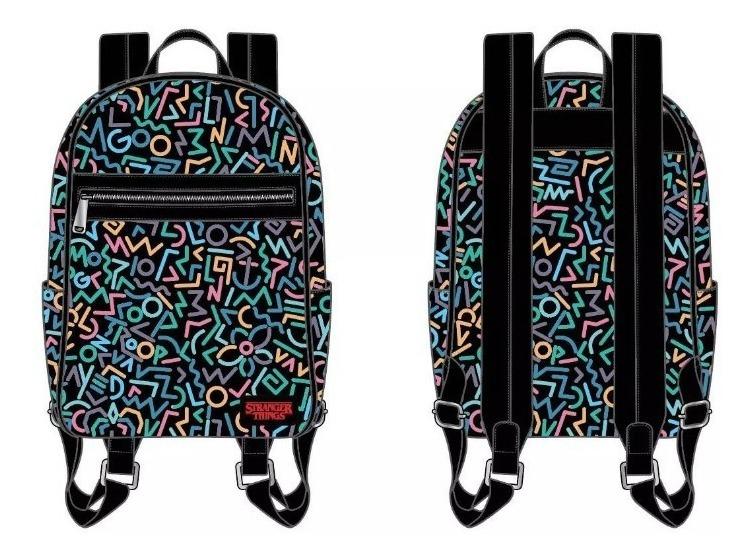 Mochila Loungefly Stranger Things Mini Backpack 5 Litros / J
