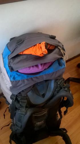 mochila lowe alpine  contour 80 + 15, muy buen estado
