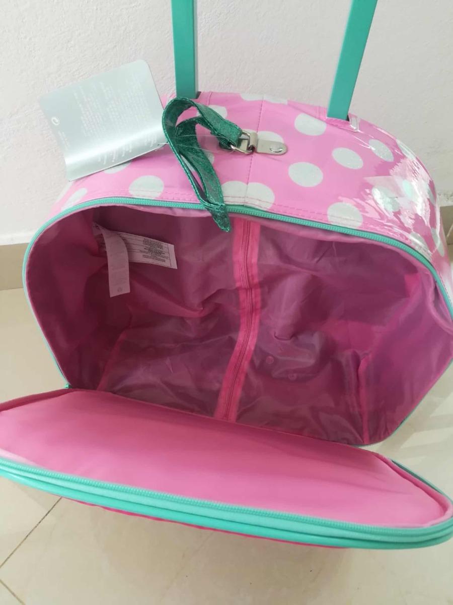 0471779cd Mochila Maleta De Ruedas Disney Store Minnie - $ 1,550.00 en Mercado ...
