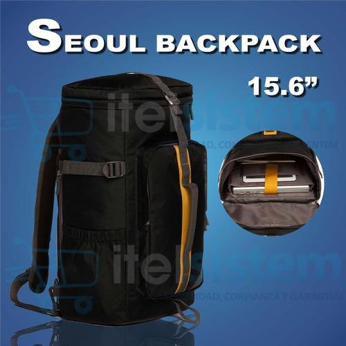 mochila maleta targus seoul laptop backpack 15.6