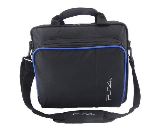 mochila maletín bolso viaje transportadora para playstation ps4 pro slim