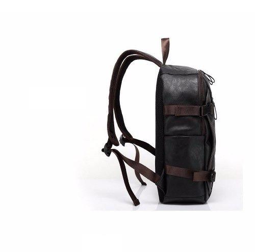 705374af1 Mochila Masculina Estudo Couro Oferta Compre Agora - R$ 300,24 em ...