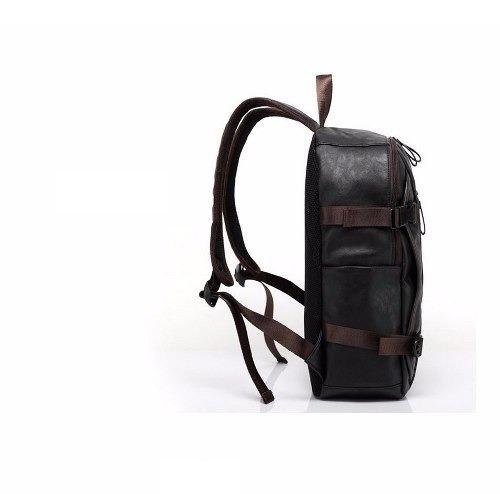 5c53bd51b Mochila Masculina Estudo Couro Oferta Compre Agora - R  300