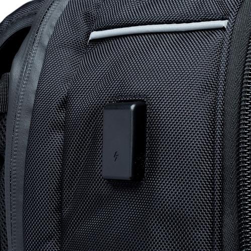 mochila masculina executiva notebook c/ cadeado swissport