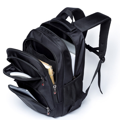 mochila masculina executiva swissport reforçada 26l original