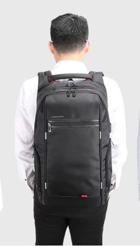 mochila masculina laptop 15.6 usb à prova d´água