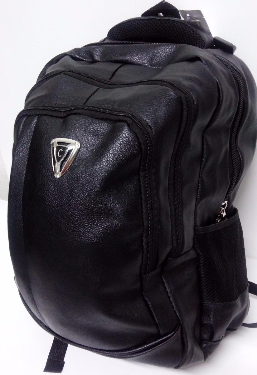 f9b8fe5731 mochila masculina prova dágua couro sintético notebook 14 15. Carregando  zoom.
