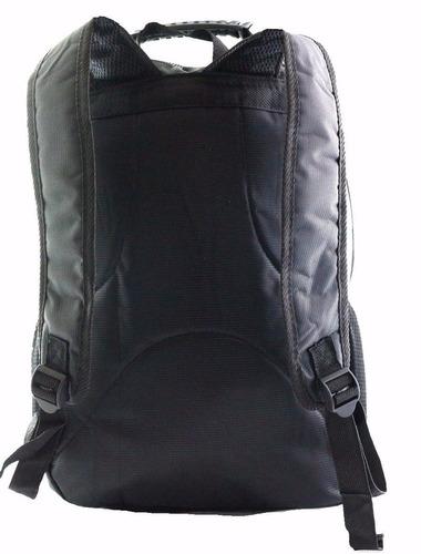 mochila masculina prova dagua resistente com cabo de aço