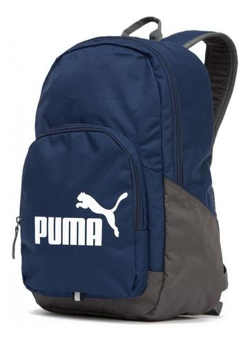 mochila masculina puma phase backpack original 073589-02