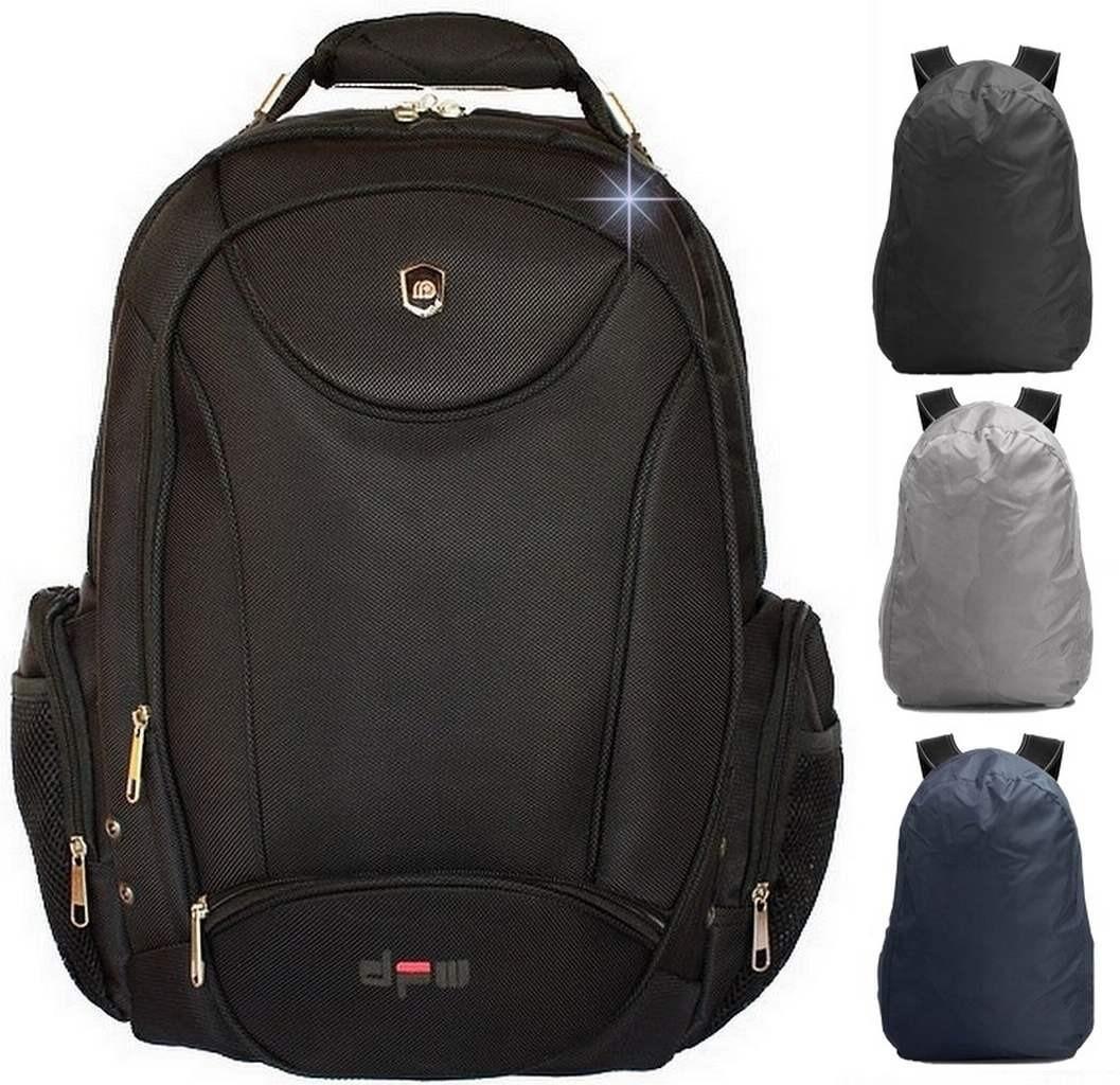 b8e576a1b mochila masculina sport cabo de aço preta notebook 22l. Carregando zoom.