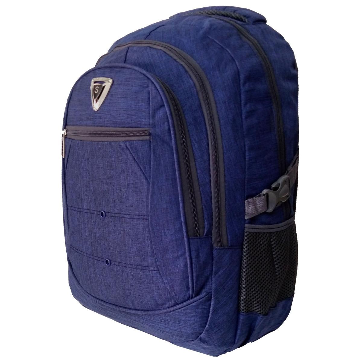 c298ba48e mochila masculina sport preta compartimento para notebook. Carregando zoom.
