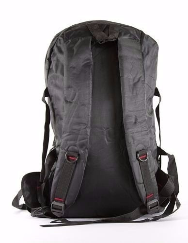 mochila masculino grande esportivo impermeável preta r.água