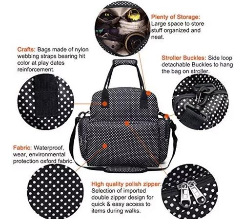 mochila maternal bebé + mudador