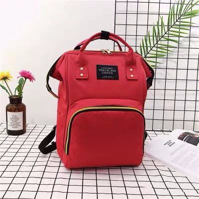 mochila maternal bolso, 4 colores
