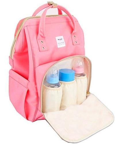 mochila maternal bolso bebe impermeable bolsillos termica