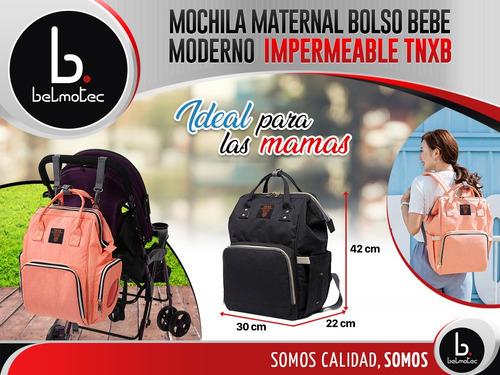 mochila maternal bolso bebe moderno impermeable reforzado