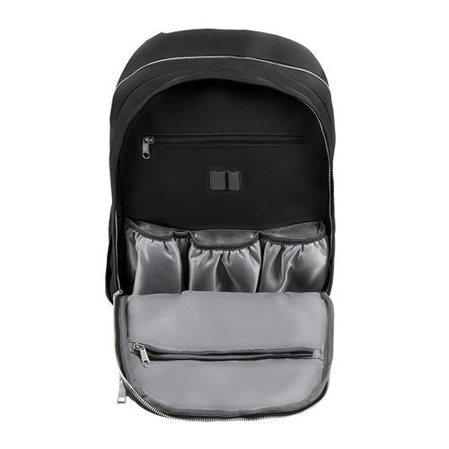 mochila maternal carestino paris cambiador negro