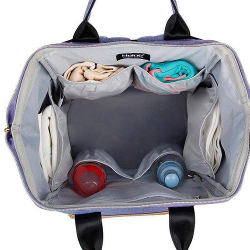mochila maternal con ganchos oferta