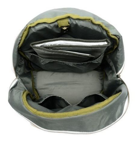 mochila maternal ecocuero pilar mommy + cambiador + ahora 18
