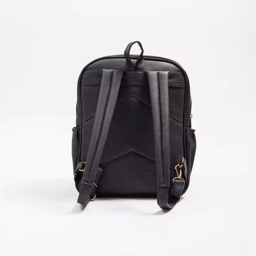 mochila maternal mommy bolso estampado ecocuero + cambiador