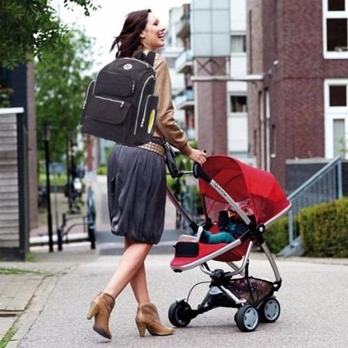 mochila maternal pañalero sport moderno soho 5en1 nuevo