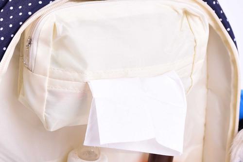 mochila maternal/bebe - importada-c/cambiador- 15bolsillos