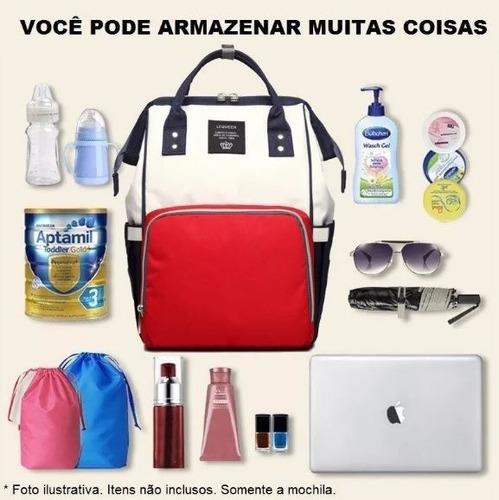 mochila maternidade backpack baby com bolso térmico