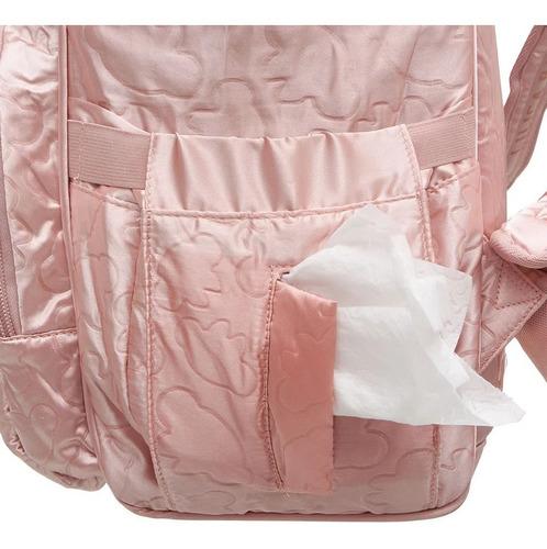 mochila maternidade lilica ripilica college cetim luxo