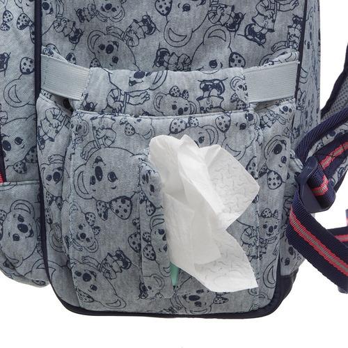 mochila maternidade lilica ripilica mommy cinza pacific