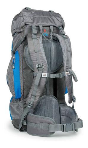 mochila mediana sierra 60 azul doite