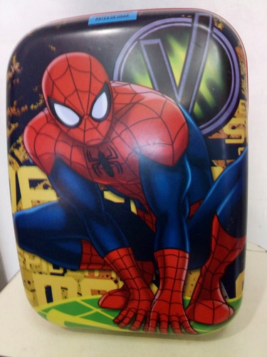 mochila mediana spiderman