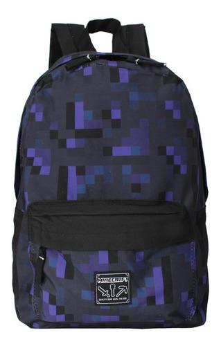 mochila minecraft 11267 escolar original