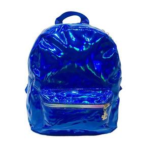 ba8f485c9 Mini Bolsa Mochila Feminina - Calçados, Roupas e Bolsas Azul no ...