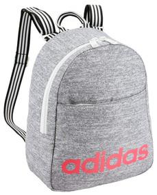 Mochilas Escolares Juveniles Adidas Mochilas Plateado en