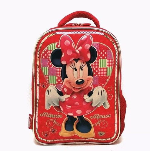 mochila minnie lic disney original cresko 12