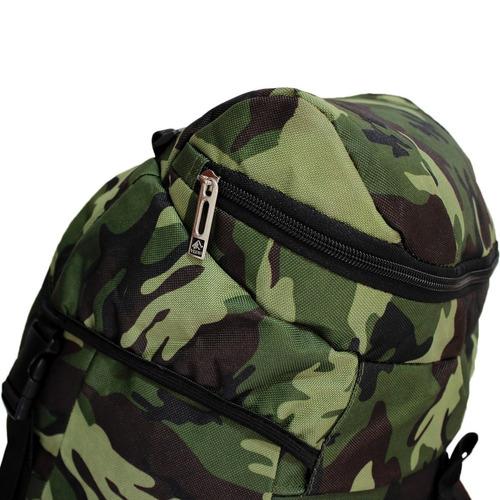 mochila mochileiro trilha yepp 75l camuflada militar ecologi