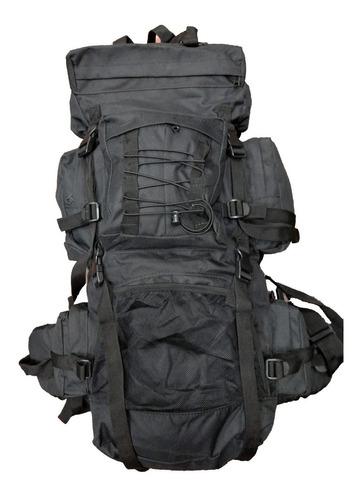 mochila mochilero 70 litros alpes regulable varilla aluminio