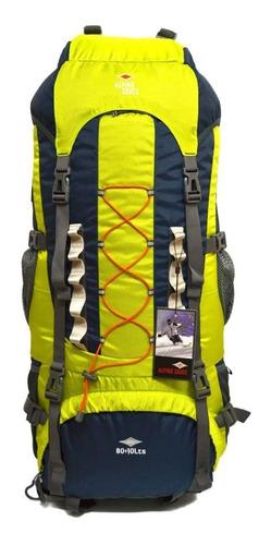 mochila mochilero alpine skate camping 90 litros original