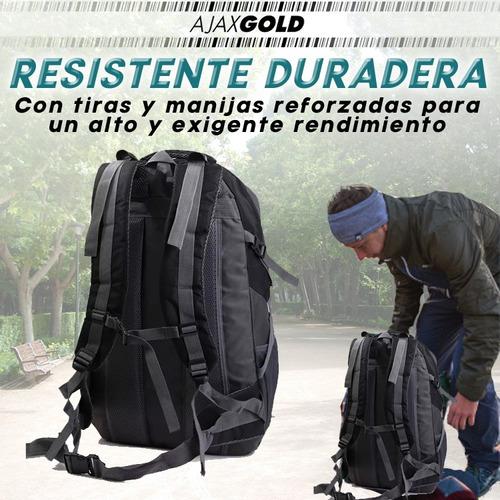 mochila mochilero camping 55 litros peyton reforzada 2019