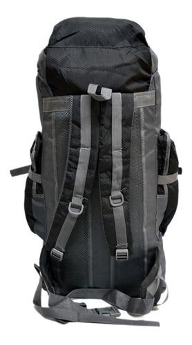 mochila mochilero camping peyton 70 lts trekking + regalo