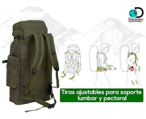 mochila mochilero camping trekking senderismo campamento montaña  70 litros + regalo